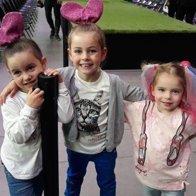 Valentina, Idaly y Emma
